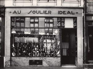 Shoe Shop Photographer Phantom France Photo 1930