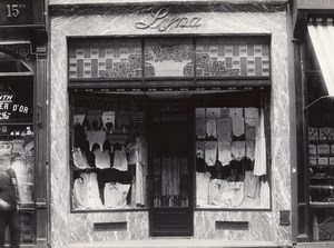 Clothing Shop Lille France Art Deco Jacquart Photo 1930