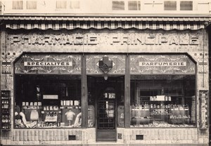 Pharmacy Perfume Shop Lille France Art Deco Photo 1930