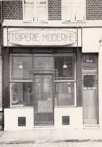 Butcher Shop Triperie Lille France Jacquart Photo 1930