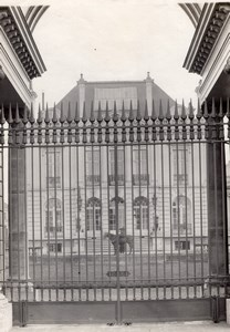 Wrought Iron Gate France Art Deco Jacquart Photo 1930'
