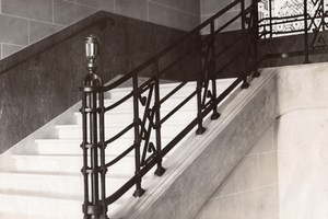 Art Deco Staircase Lille France old Jacquart Photo 1930