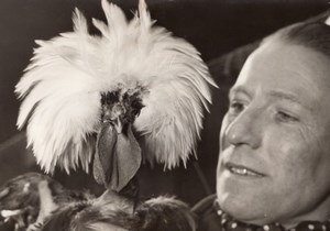 Dutch Chicken Exhibition Paris France old Photo 1955