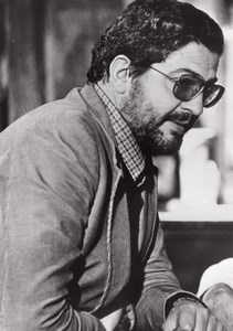 Ettore Scola Film Director Cinema old Photo 1970'