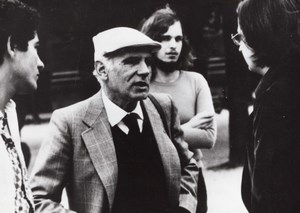 Luigi Comencini Film Director Cinema old Photo 1970'