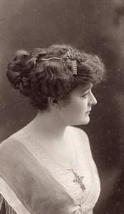 Dubel Opera Singer Fashion Paris old Talbot Photo 1910