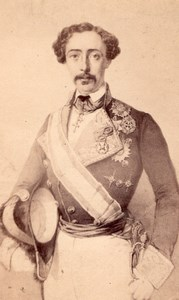 Spain General Ortega Carlist Party CDV Photo 1860'