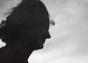 Photographic Woman Silhouette France amateur Photo 1950