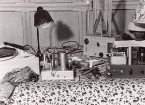 Radio Equipment Vanity France amateur Photo 1950'