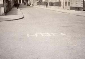 Referendum 5 Mai Paris Unusual amateur Snapshot 1946