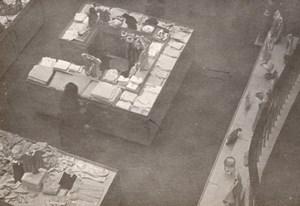 Magasins du Louvre Paris Unusual amateur Snapshot 1946