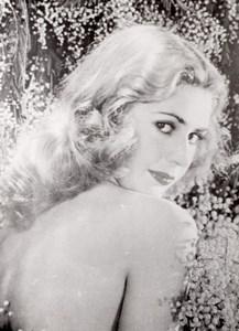 Pretty Woman Decor France old amateur Photo 1950'