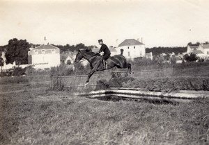 Riding Master Saumur Military French Horse Photo 1910