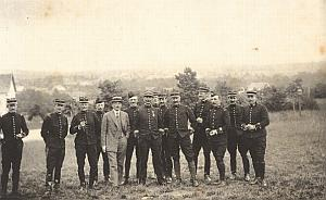 Valdation Military French General Cavalry Photo 1913