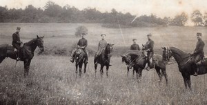 Valdation Military French Horse Officers old Photo 1910
