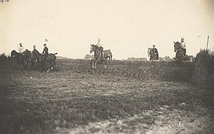 Saumur Military French Horse Instantaneous Photo 1910