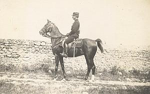 Luneville Military French Horse Lascar old Photo 1912