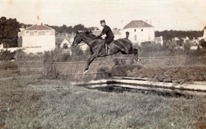 Saumur Military French Horse real Photo postcard 1910