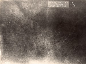 Verdun Le TriangleTrench Military aerial Photo WWI 1916