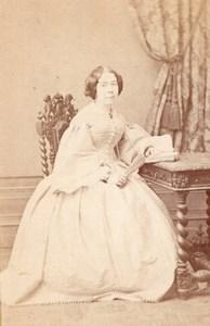 Woman Marseille Second Empire Fashion Terris CDV 1860'