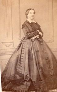 Woman Marseille Second Empire Fashion Cassien CDV 1860'