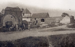 France Somme Farm Ruins WWI Military scene old war Photo