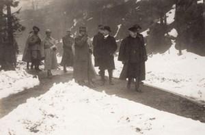 Saut des Cuves Poincare WWI Military scene war Photo