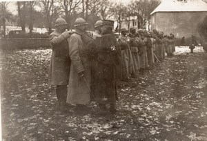 Villersexel Nivelle Visit WWI Military scene war Photo
