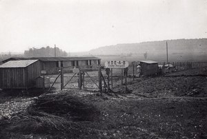 Farm Supply HOE 4B WWI Military scene old war Photo