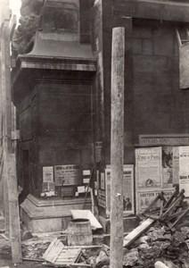 France Paris Gotha shelling WWI Military scene old war Photo
