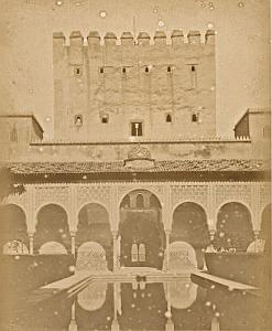 Spain Granada Alhambra Sultan Bath old Photo Puig 1875'
