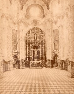 Spain Granada Church Interior old Photo Puig 1875'