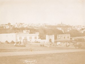 Morocco Tanger Old City Panorama old Photo Karm 1925