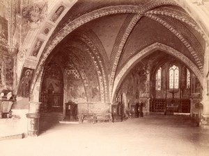 Assisi San Francesco Church Italy old Photo 1875'