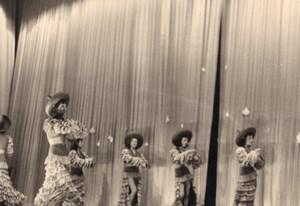 Ladies Ballet Dancers Costume France Old Photo 1950'
