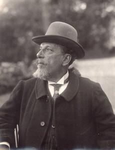 Mister Soupe Bois le Roy France Old Portrait Photo 1900