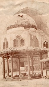 Cairo Mosque Ruins Egypt Old Photo 1880