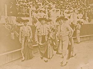 Matador Tauromachia BullFight Corrida Arena Photo 1890