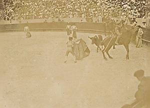 Spain Tauromachy BullFighting Corrida Arena Photo 1890
