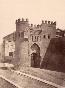 Spain Toledo Puerta del Sol old Alguacil Photo 1870'