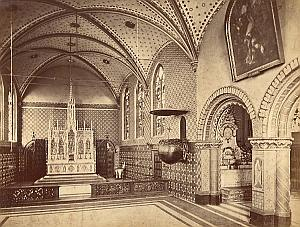 Spain Toledo Santa Maria Cathedral old Photo 1880