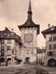 Bern Zeitglockenthurm Switzerland old Photo 1890