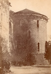 Amboise Castle Tower France old Mieusement Cabinet Card Photo 1880'