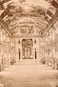 Italy Roma Colonna Palace Interior old Photo 1880'