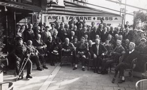 Belgium Westende WWI Veterans Memorial Photo 1933