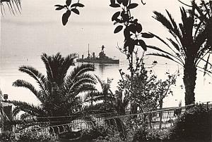 Oran Mers El Kebir French Military Ship Old Photo 1940
