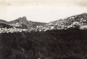 Moulay Idriss Panorama Morocco old Aerial Photo 1920