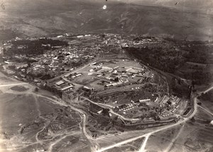 Taza City Panorama Morocco old Aerial Photo 1920