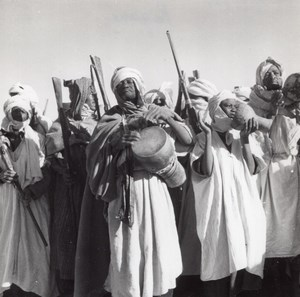 Regane Music Tribes Festivity Algeria old Photo 1940
