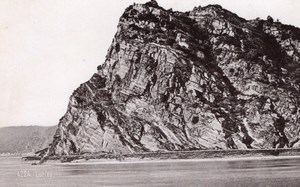 Lurley Rock Germany Rheinlande Old CC Photo 1897